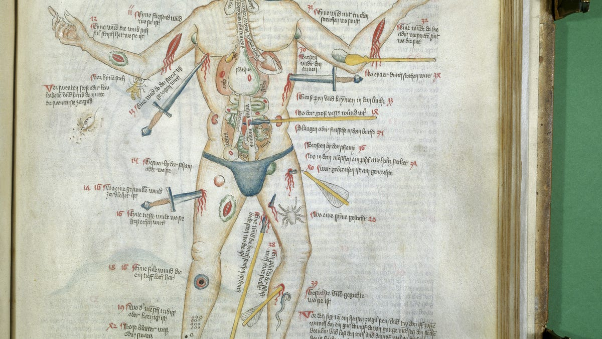 A Brief History Of The Body Told Through 10 Eye Popping Drawings