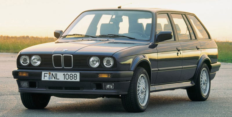 I Just Bought A Bmw E30 Wagon
