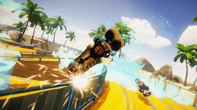 Illustration for article titled Surgeon Simulator Devs Announce Ridiculous New Skateboarding Game