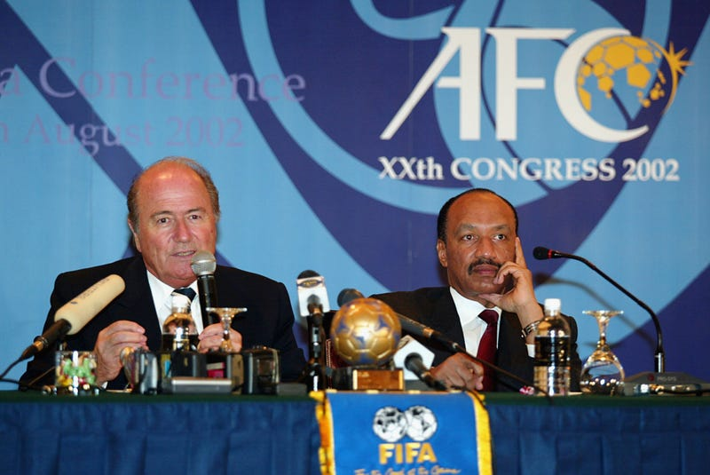 Illustration for article titled FIFA Vice President Would Support A Re-Vote On 2022 Host