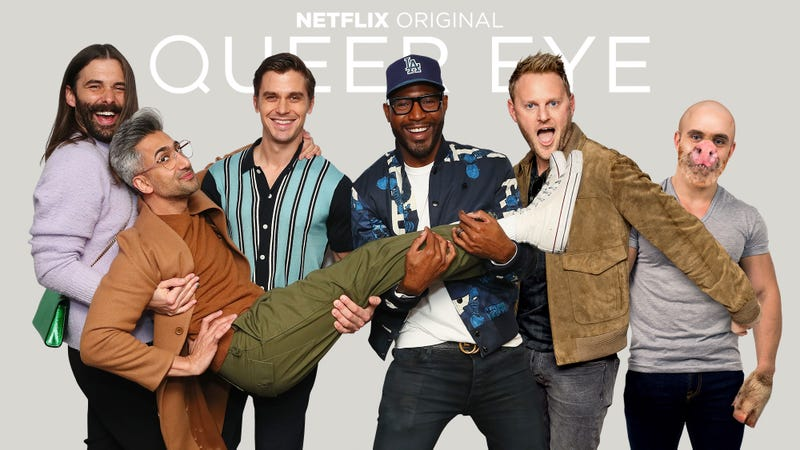 Illustration for article titled 'Queer Eye' Fans, Rejoice! The Fab Five Is Adding A Sixth Member Named 'Pig Boy' Who Bites Those Responsible For A Participant's Self-Esteem Issues