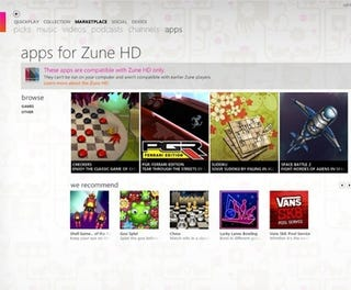 Illustration for article titled Zune HD Gets Its First 3D Games (And They're All Free)