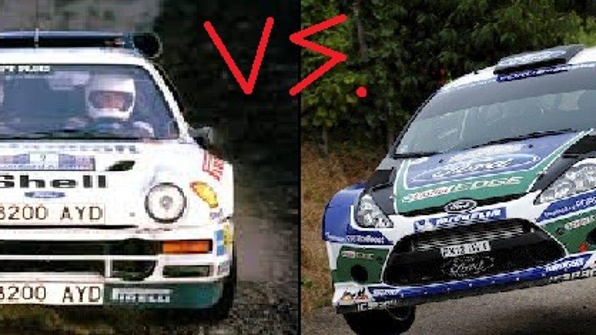 Group B vs. WRC - Car comparison