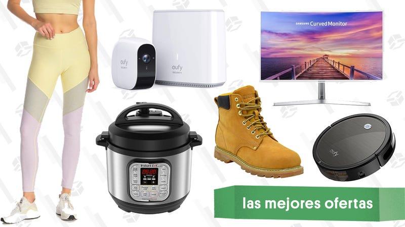 Illustration for article titled Las mejores ofertas de este lunes: Instant Pot, monitor curvado, cámara de seguridad y más