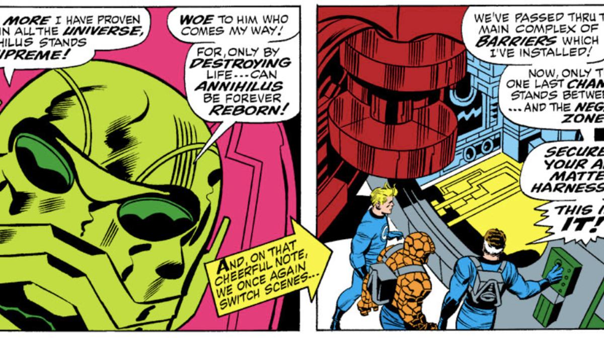 Captain Marvel's 90s Website Teases Obscure Villain Annihilus