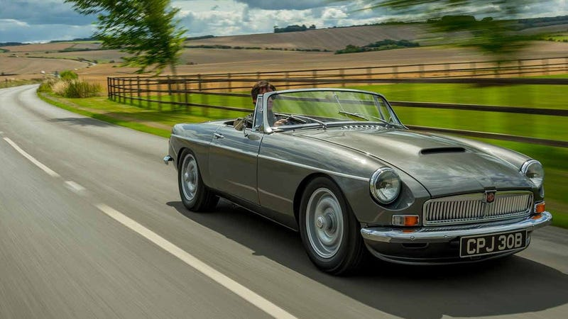 Illustration for article titled How About A Brand New 1960s British Roadster That's Fast And Reliable?