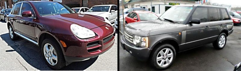 Illustration for article titled Heinously Unreliable Used Car Battle of the Week: Luxury SUVs