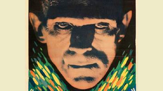 Illustration for article titled You're not going to believe how much this Frankenstein poster sold for