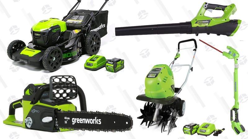 GreenWorks Gold Box | Amazon