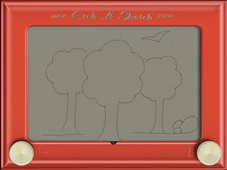 Illustration for article titled Shake Those iPads Clean and Make Way For the $3 Etch A Sketch HD App