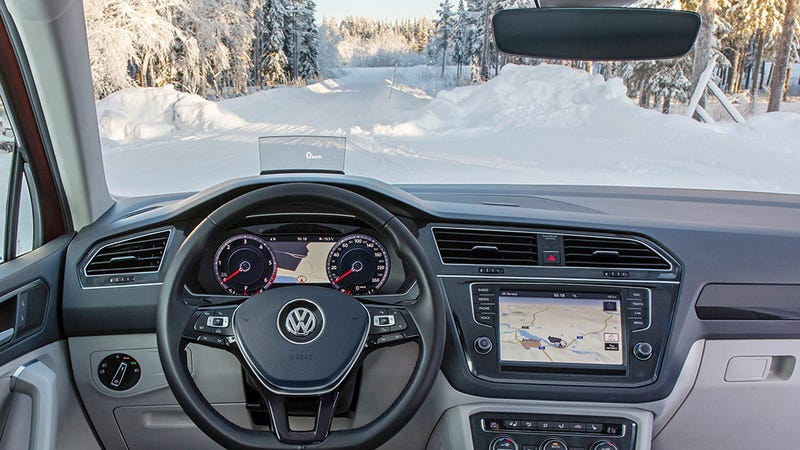 Illustration for article titled Volkswagen Put an Invisible Layer of Silver in Its New Windshields to Melt Away Snow