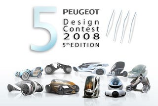 Illustration for article titled 2008 Peugeot Design Contest Picks Top Ten Future Cars We'll Never See