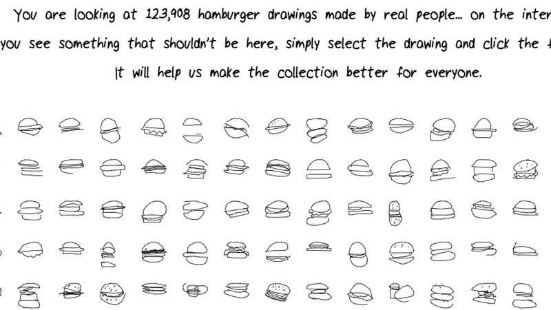 google releases millions of people s lousy stick figure drawings