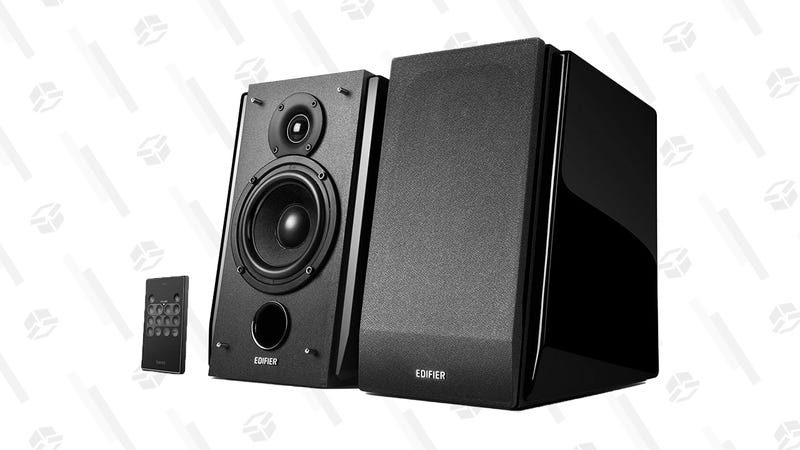 Edifier R1850DB Active Bookshelf Speakers with Bluetooth and Optical Input | $160 | Amazon