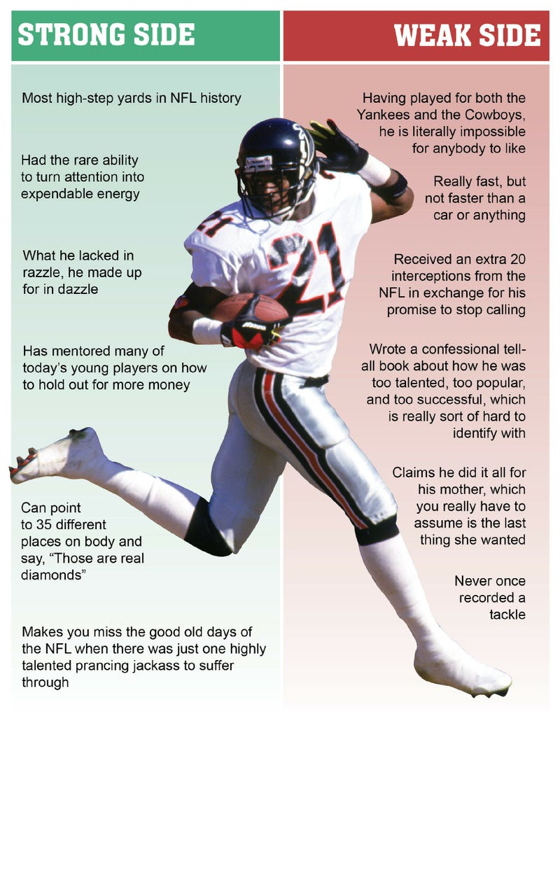 Illustration for article titled Deion Sanders