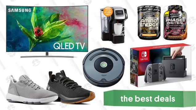 Saturday s Best Deals: Bose Headphones, Samsung QLED TVs, Reebok Sale, and More