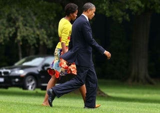 President Barack Obama and first lady Michelle Obama (Getty)
