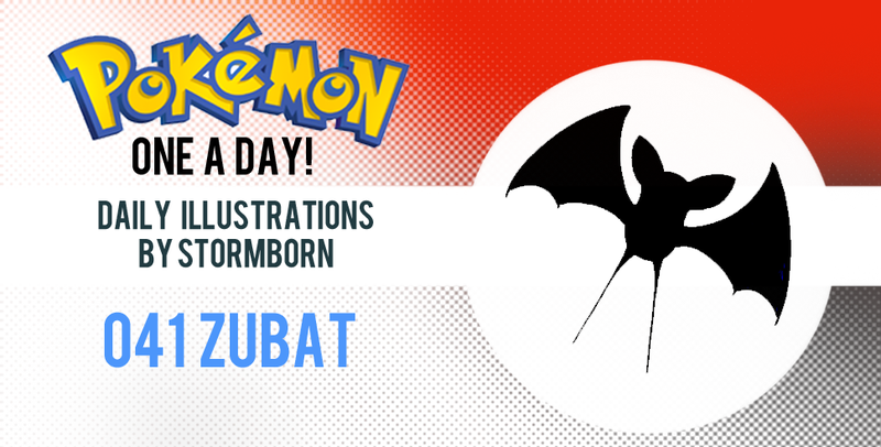 Illustration for article titled Let's look at Zubat! Pokemon One a Day!