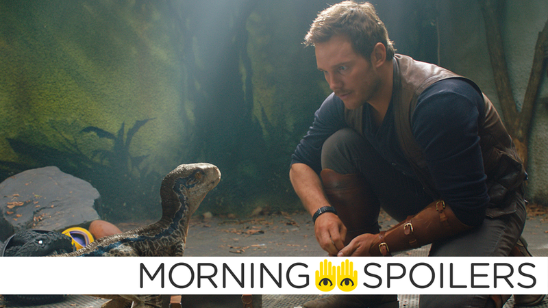 Chris Pratt could brush up against more than just familiar dinos in the next Jurassic World.