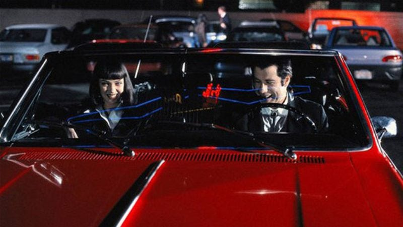 Quentin Tarantinos Pulp Fiction Car Has Been Found Nearly - Cool cars quentin