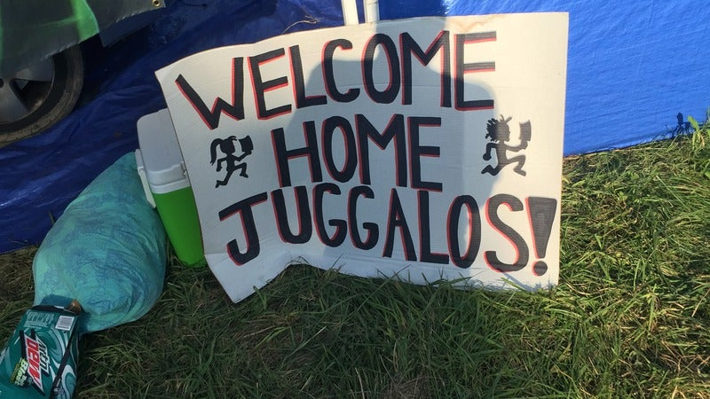 2015 Gathering Of The Juggalos Children a wedding and Juggalos