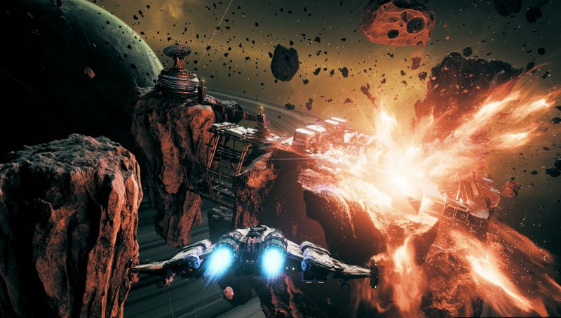 Illustration for article titled Steam's Latest Hit: An Intense Spaceship Roguelike Called Everspace