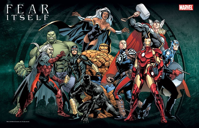 "Illustration for article titled Marvel Comics unveils its next big event: ""Fear Itself"""