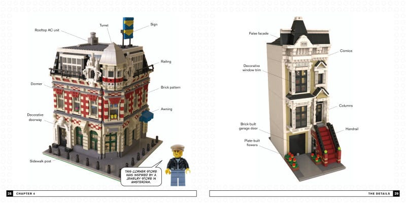 Illustration for article titled Book: The Lego Neighborhood Book--Build Your Own Town