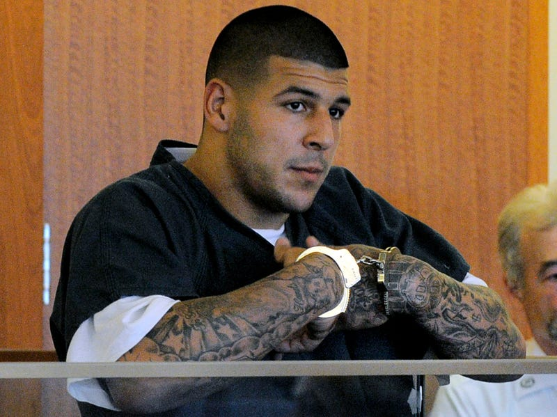 Illustration for article titled Aaron Hernandez's Tattoos May Contain Clues To Murders