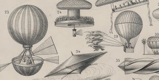 Illustration for article titled Flying Machines (circa 1885)
