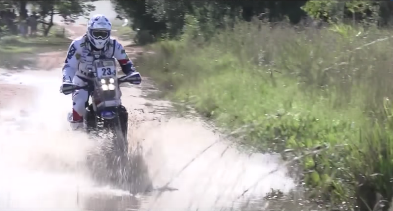 Footage from the first day of the Dakar Rally. Image via the Dakar Rally on YouTube