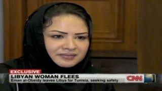 Illustration for article titled Libyan Rape Victim Iman al-Obeidi Escapes To Tunisia