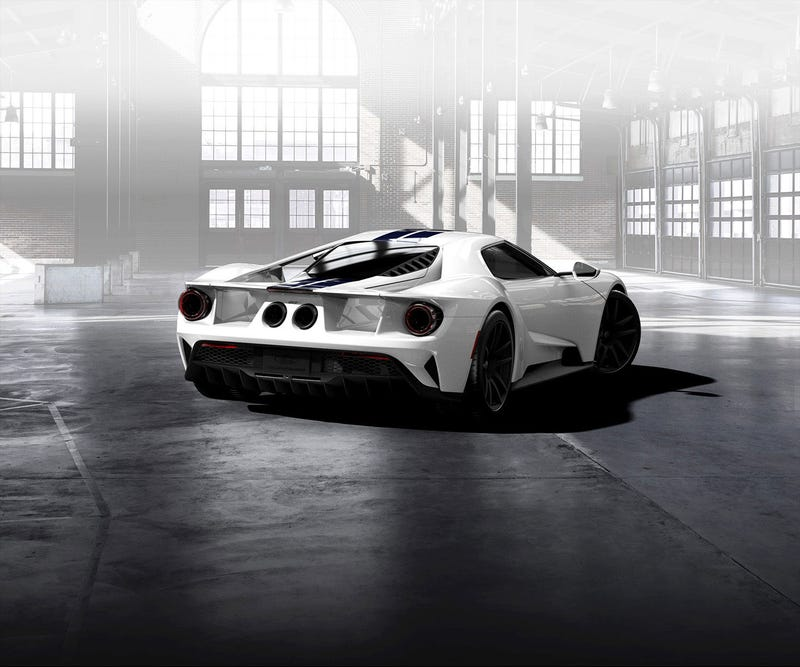 Illustration for article titled Ford GT Configurator is live
