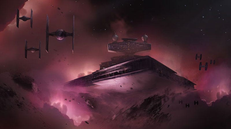 Concept art from Visceral's canceled Star Wars game, Ragtag.