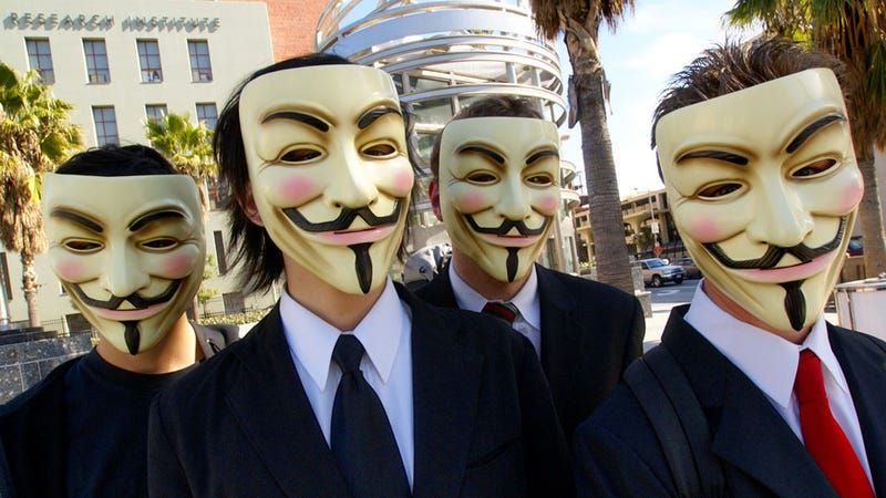 Illustration for article titled Anonymous Targets Sony, Warns Of Penises Stuck In Hornets Nests
