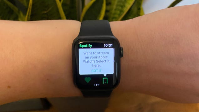 Looks Like Spotify Is Expanding Its Streaming Beta on the Apple Watch