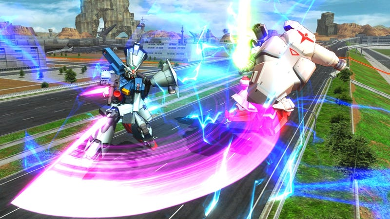 Illustration for article titled Massively Popular Gundam Arcade Game Gets a PS3 Release in Japan