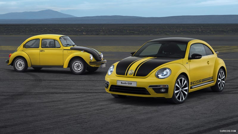 Illustration for article titled The Simplified Conception Of The Volkswagen Beetle