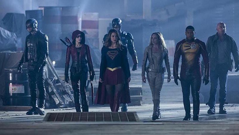 Illustration for article titled The DC/CW Crossover Finally Kicked Off, and It Was Totally Worth the Wait