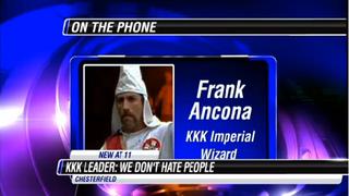 KKK leader Frank AnconaNBC 12