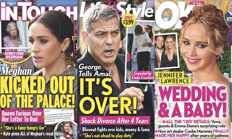 This Week In Tabloids: Jennifer Aniston Asked Brad Pitt To Be A Character Witness Against Angelina Jolie?!