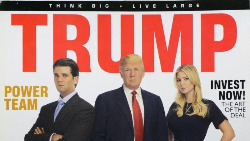 Trump magazine cover (Photo: New York Daily News)