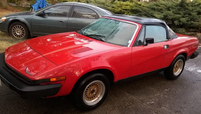 For 1995 This 1981 Triumph Tr7 Convertible Could Be Your Lucky Number