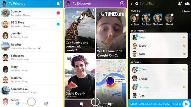 Snapchat's Redesign Isn't Going Anywhere