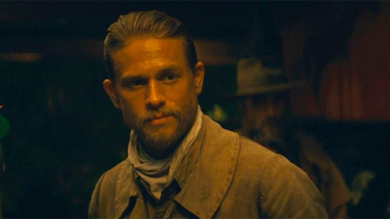 Charlie Hunnam in The Lost City Of Z (Screenshot: YouTube)