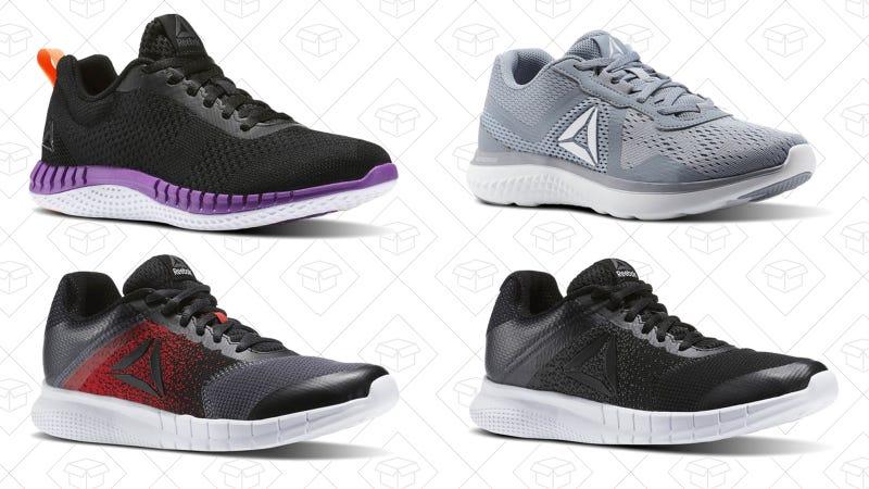 Select running shoes | $30 | Reebok | Use code RUN29