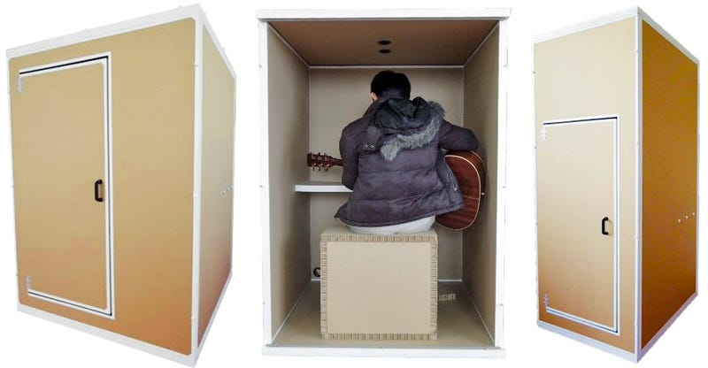 Illustration for article titled These Days Everyone Needs a Soundproof Cardboard Box to Scream in