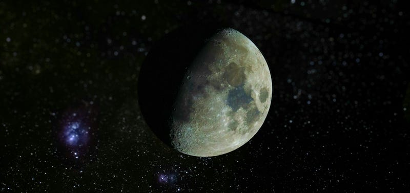 Illustration for article titled This image of the Moon is cool and I don't care it's fake