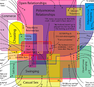 there are so many ways to have many partners this map created by franklin veaux does a fantastic and pretty job of parsing the world beyond monogamy
