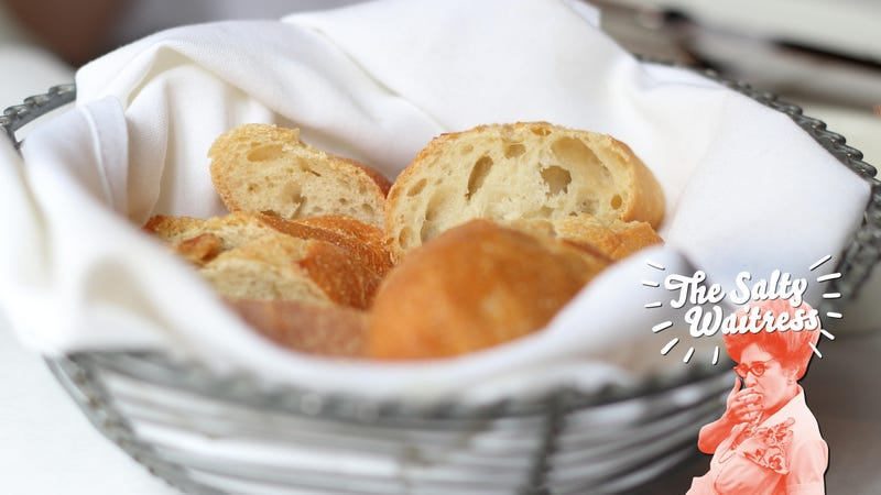 21cdb06b Illustration for article titled Ask The Salty Waitress: My manager wants us  to reuse bread